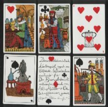 Playing cards. Des Alchimistes, designed by Elfriede Weidenhaus